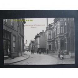 Almelo 1918 - Groote Straat en Postkantoor