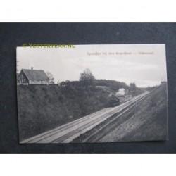 Oldenzaal 1916 - spoorlijn bij den Koperboer