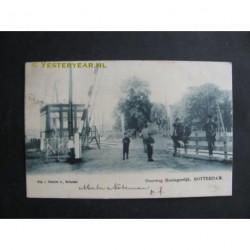 Rotterdam 1907 - Overweg Honingerdijk