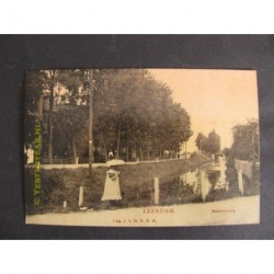 Leerdam 1908 - Stationsweg