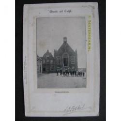 Cuijk ca. 1900 - Gemeentehuis