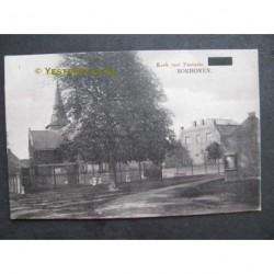 Bokhoven 1928 - kerk met pastorie