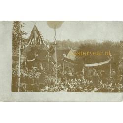 Vught 1904 - Maurickplein -Koninklijk bezoek-fotokaart