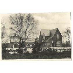 Waalre ca. 1935 - Gemeentehuis - fotokaartr