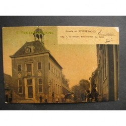 Nieuwkoop 1908 - groete uit - stadhuis