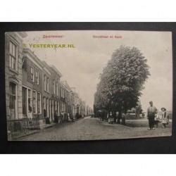 Zwartewaal 1909 - Dorpstraat en Kade