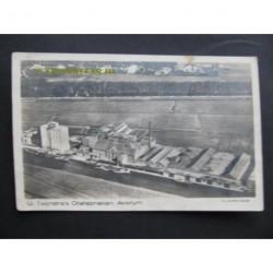 Akkrum 1925 - Twijnstra Oliefabrieken - fotokaart KLM