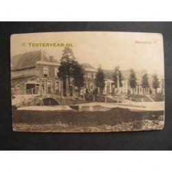 Hekendorp 1918 - bij de sluis