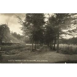 Hollandsche Rading 1930 - theehuisje de Paddenstoel- fotokaart