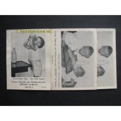 Beilen ca. 1935 - melkfabriek Beilen - reclame 3 stuks