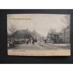 Leek 1918 - groet uit de Leek - Nietap