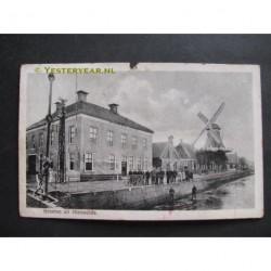 Nieuwolda 1916 - groeten uit - Hotel Bos