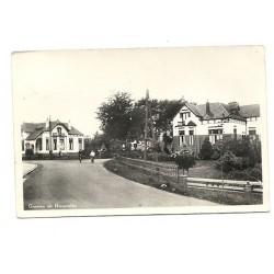 Nieuwolda 1932 - ingang Stationsweg - fotokaart