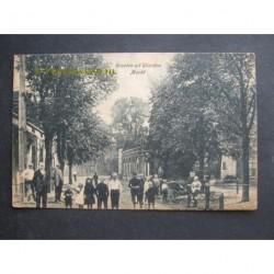 Wierden ca. 1915 - groeten uit - Markt