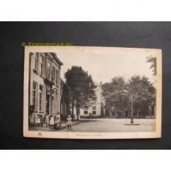 Aalten 1924 - Marktplein met gemeentehuis