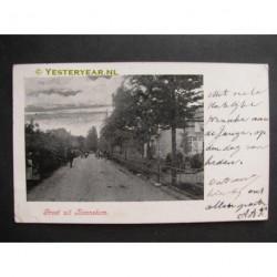 Bennekom 1903 - groet uit - dorpsstraat