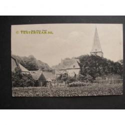 Ermelo ca. 1920 - dorpsgezicht met kerktoren