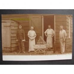 Harskamp 1904 - militaire bakkerij - fotokaart