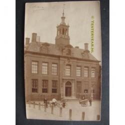 Edam ca. 1910 - raadhuis - fotokaart