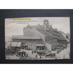 Bergen aan Zee 1925 - Hotel Nassau zondagsdrukte