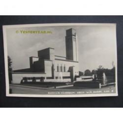Hilversum ca. 1935 - raadhuis Dudok - fotokaart