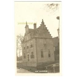 Jisp ca. 1930 - raadhuis - fotokaart
