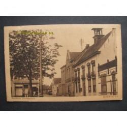 IJzendijke ca. 1915 - stadhuis en postkantoor