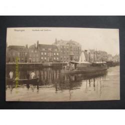 Vlissingen 1912 - Houtkade met stadhuis