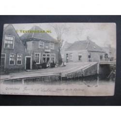 Kwintsheul 1907 - gezicht op de Heulbrug