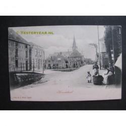 Kwintsheul ca. 1905 - gezicht op de dorpsstraat