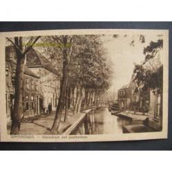 Wateringen ca. 1930 - Heerestraat met postkantoor