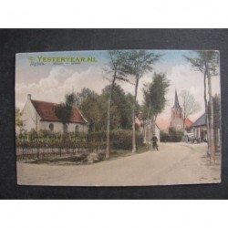 Alphen ca. 1910 - Militair tehuis - kerk kapel