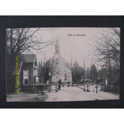 Barchem 1913 - Kerk bij slagboom
