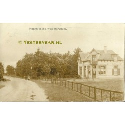 Barchem 1911- Ruurloosche Weg - fotokaart