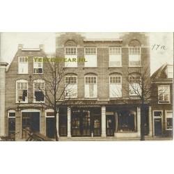 Delft 1914 - schilderswinkel - fotokaart