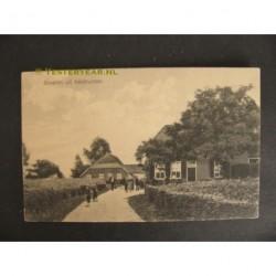 Veldhunten 1915 - bij Gendringen - boerderijen