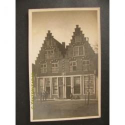 Hoorn ca. 1935 - huizen - trapgevels - fotokaart
