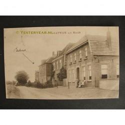 Katwijk ca. 1910 - pastorie - aan de Maas