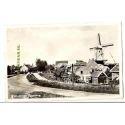 Wemeldinge 1948 - Bonzijweg - molen
