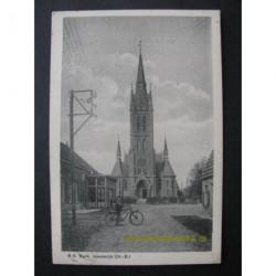 Heeswijk 1942 - gezicht op kerk