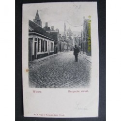 Wouw 1906 - Bergsche Straat