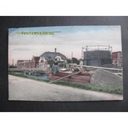 Drachten 1923 - Ewal gas- en lederfabriek