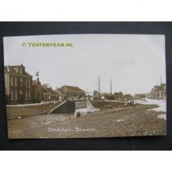 Stavoren 1924 - Stadhuis - fotokaart
