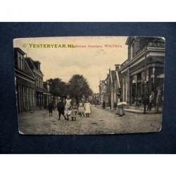 Wolvega 1910 - Hoofdstraat Oosteinde