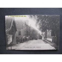 Almkerk 1915 - Raadhuis met cafe