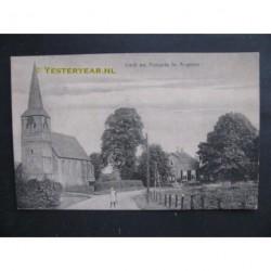 Angerlo 1918 - Kerk en pastorie