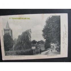 Beekbergen 1904 - kerk en dorpgezicht