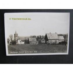 Beekbergen 1954 - gezicht op kerk