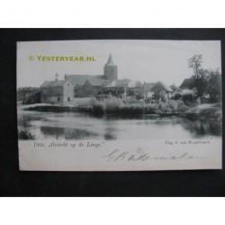 Deil 1901 - gezicht op de Linge