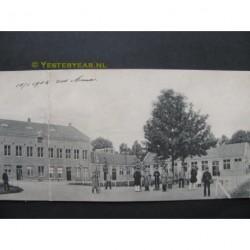 Doetinchem ca. 1915 - gesticht de Kruisberg - panoramakaart